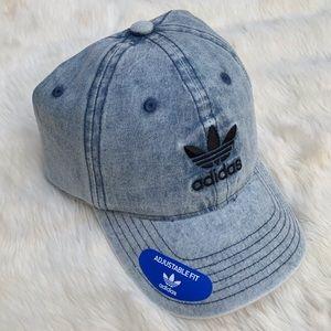 Adidas relaxed denim hat